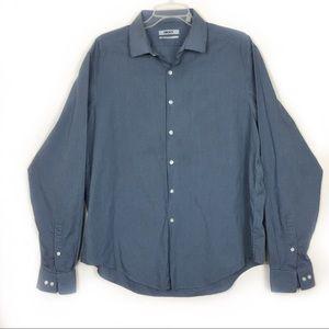 DKNY Slim Fit LongSleeves Dress Shirt 17 1/2 36/37